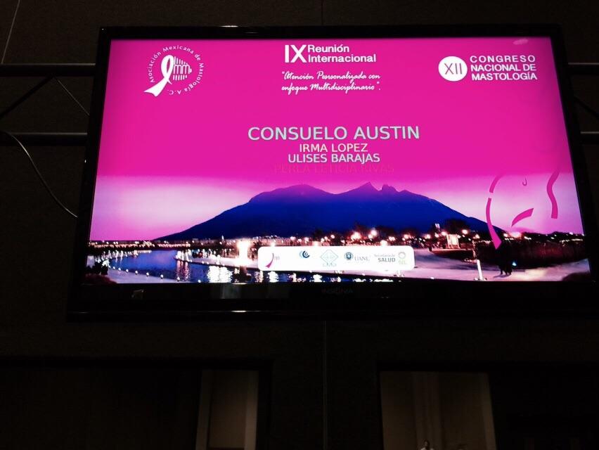 "XIV Congreso de Mastología ""Monterrey, NL"""
