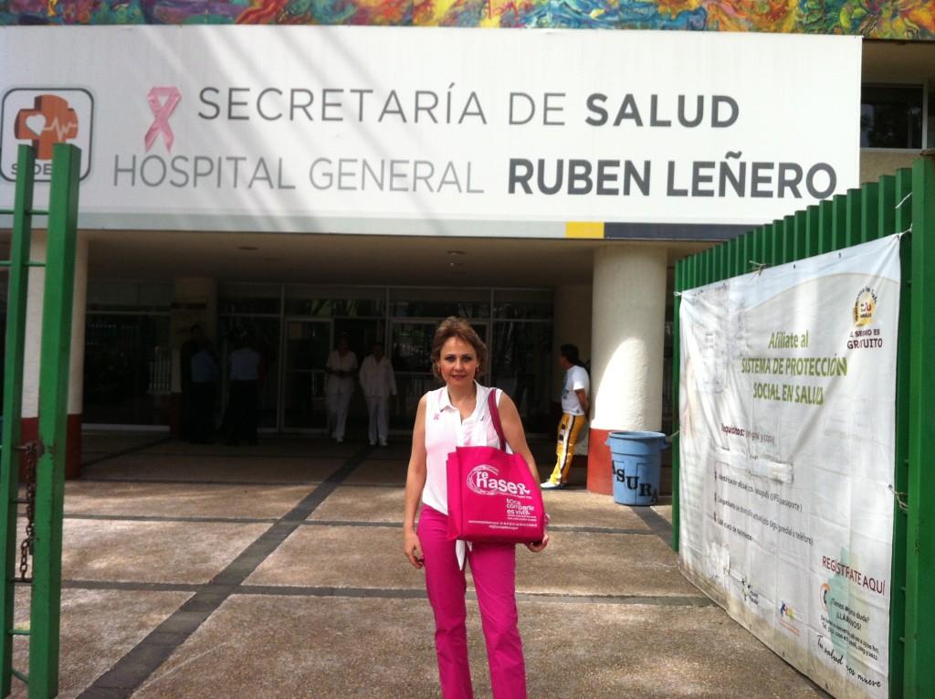 """Autoexploración """"Hospital Rubén Leñero"""""""