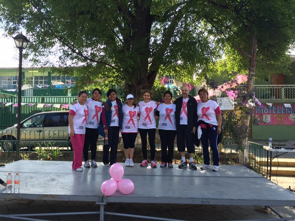 1ra Carrera contra el cáncer de mama